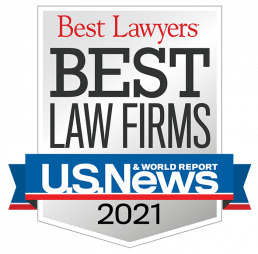 Best Lawyers Best Law Firms 2021 badge